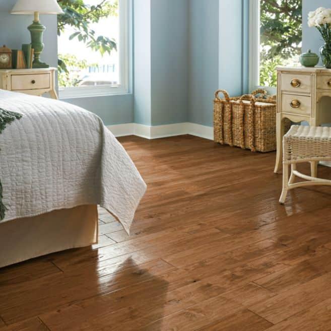 "Armstrong American Scrape Hardwood Hickory - Gold Rush Hardwood Flooring - 3/4"" x 5"""