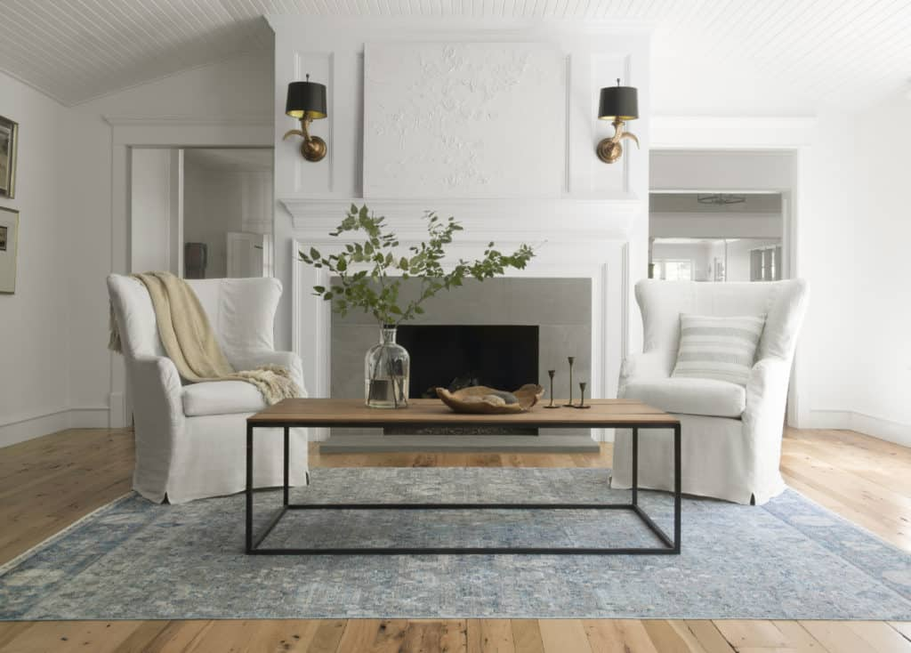 Ophelia OE-02 Grey/Sky Area Rug - Magnolia Home By Joanna Gaines