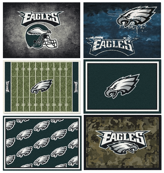 NFL Team Area Rugs - The Eagles