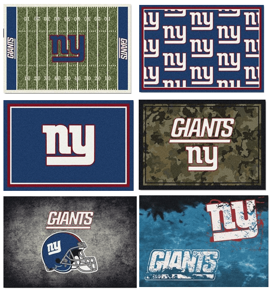 NFL Team Area Rugs - The Giants