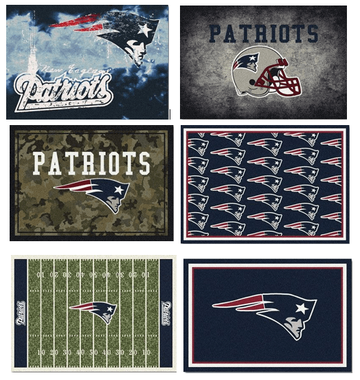 NFL Team Area Rugs - Patriots