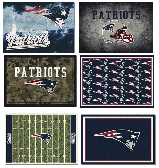 NFL Team Area Rugs - Patriots