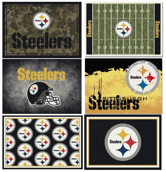 NFL Team Area Rugs - The Steelers