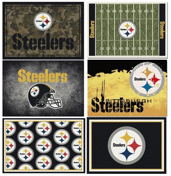 NFL Team Area Rugs - The Steelers