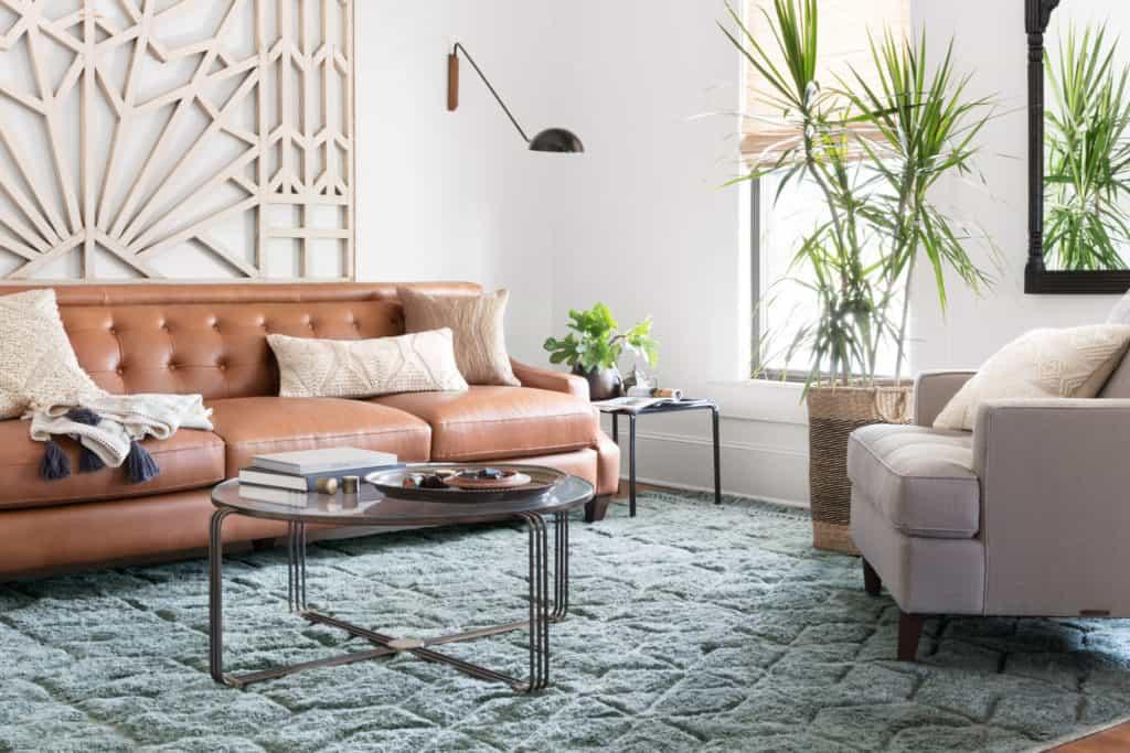 Laine LAI-02 Slate Area Rug - Magnolia Home by Joanna Gaines