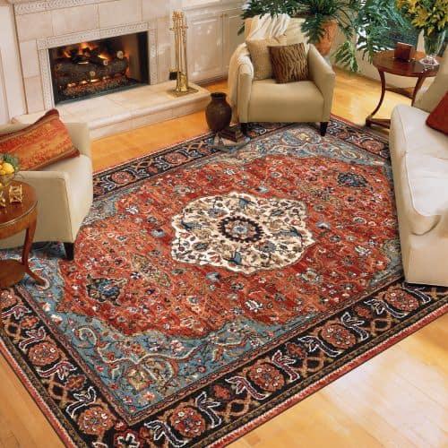 Karastan Spice Market 90661-90097 Petra Multi Area Rug