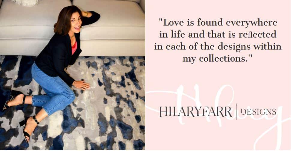 Hilary Farr Area Rug Collection